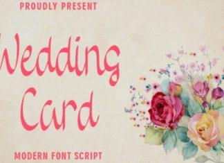 Wedding Card Font