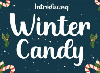 Winter Candy Font