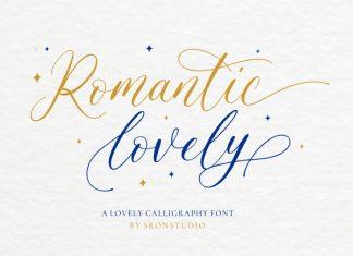 Romantic Lovely Font