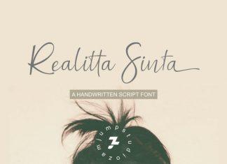 Realitta Sinta Font