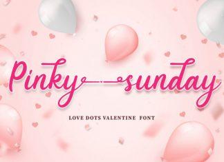 Pinky Sunday Font