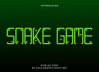 Snake Game Font