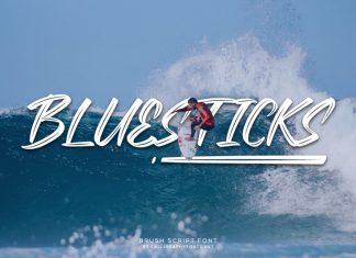 Bluesticks Font