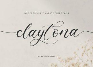 Claytona Font
