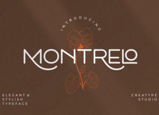 Montrelo Font