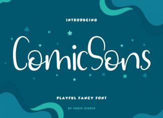 Comic Sons Font