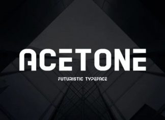 Acetone Font