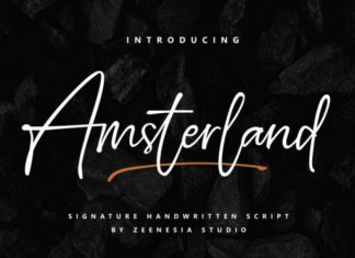 Amsterland Font