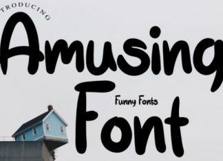 Amusing Font