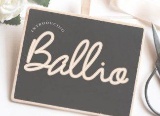Ballio Font