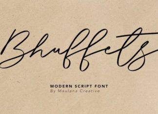 Bhuffets Font