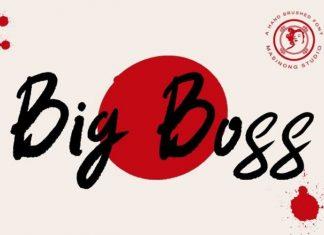 Big Boss Font