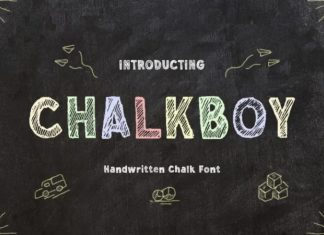 Chalkboy Font