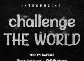 Challenge The World Font