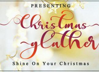 Christmas Glather Font