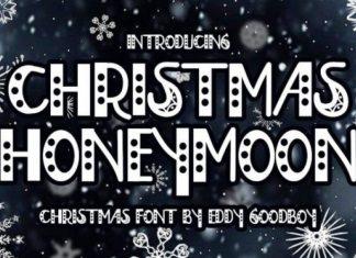 Christmas Honeymoon Font
