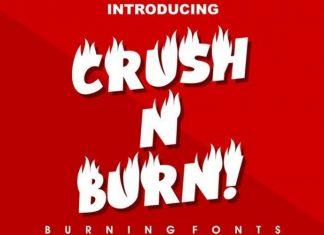 CRUSH N BURN Font