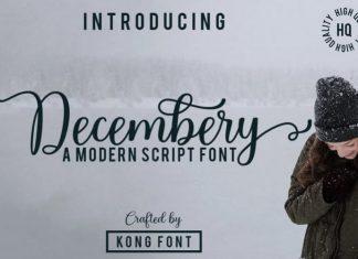 Decembery Font