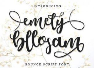 Emely Bllosam Font
