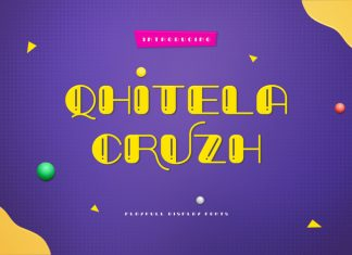 Qhitela Cruzh Font