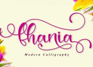 Fhania Font