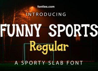 Funny Sports Font