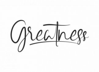 Greatness Font