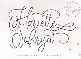 Hariette Sofirya Font