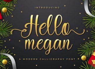 Hello Megan Font