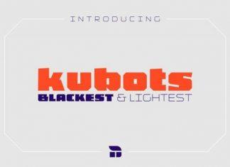 Kubots Display Font