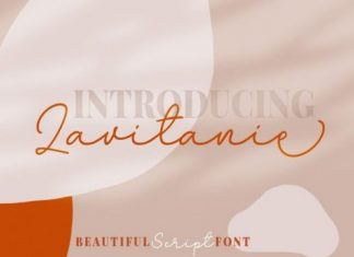 Lavitanie Font