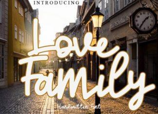 Love Family Font