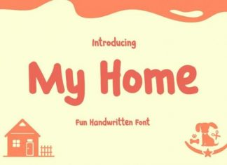 My Home Font