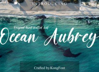 Ocean Aubrey Font