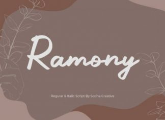 Ramony Font