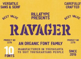 Ravager Font