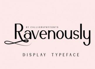 Ravenously Font