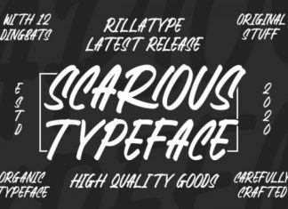 Scarious Font