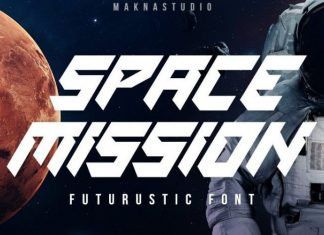 SPACE MISSION Font