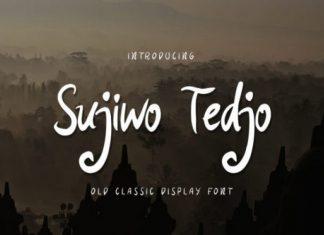 Sujiwo Tedjo Font