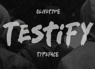 Testify Font