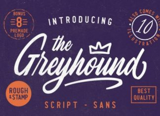 The Greyhound Font