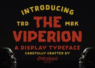 The Viperion Font
