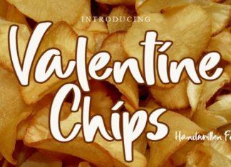Valentine Chips Font
