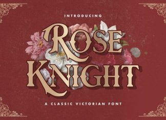Rose Knight Font