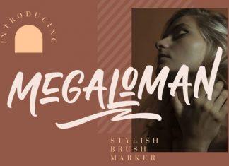 Megaloman Font