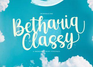 Betharia Classy Font