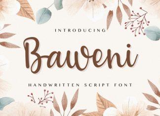 Baweni Font