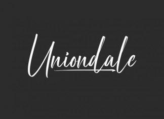Uniondale Font