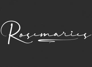 Rosemaries Font